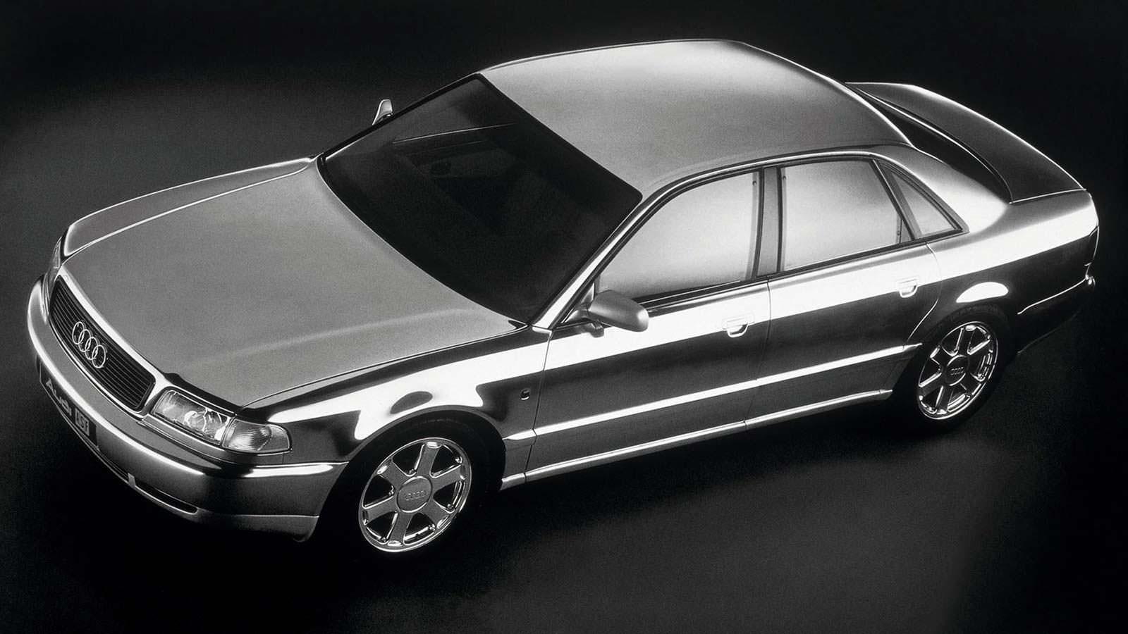 Алюминиевый прототип Audi ASF Concept 1993 года