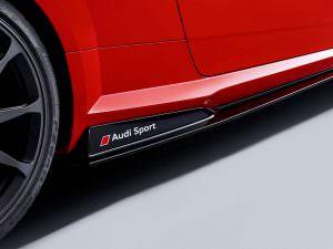 Карбоновые пороги Audi Sport