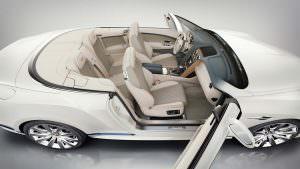 Интерьер Bentley Continental GTC Galene от Mulliner