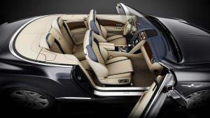 Кожаный салон Bentley Continental GT Timeless Series