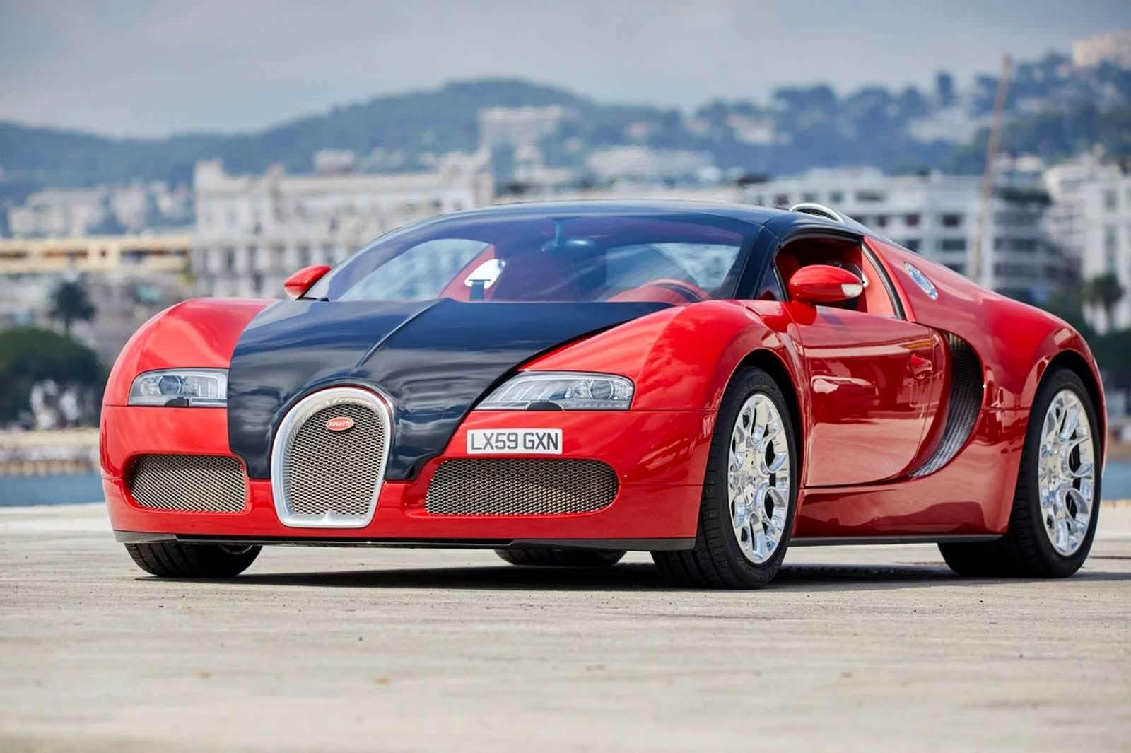 Родстер Bugatti Veyron Grand Sport