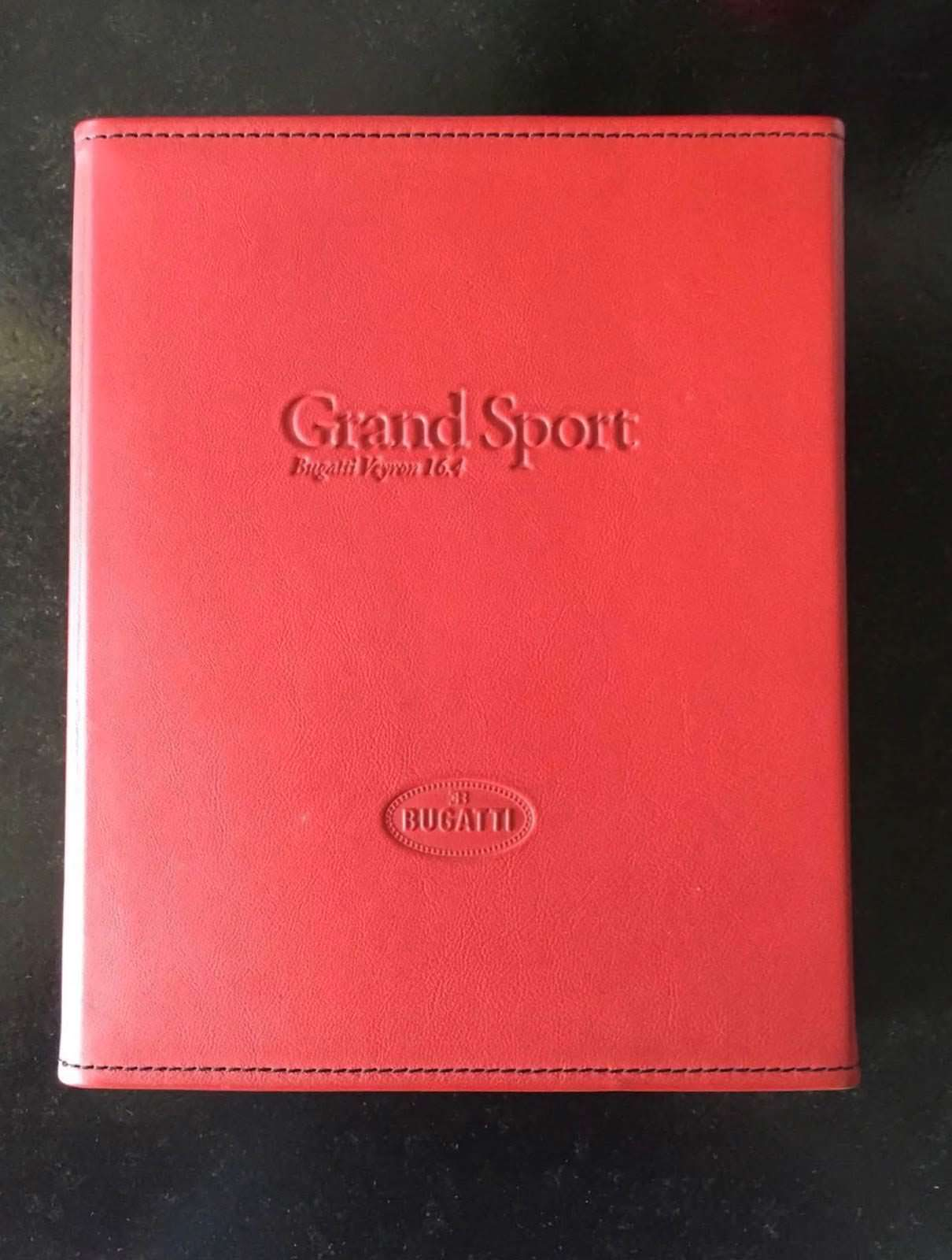 Руководство владельца Bugatti Veyron Grand Sport