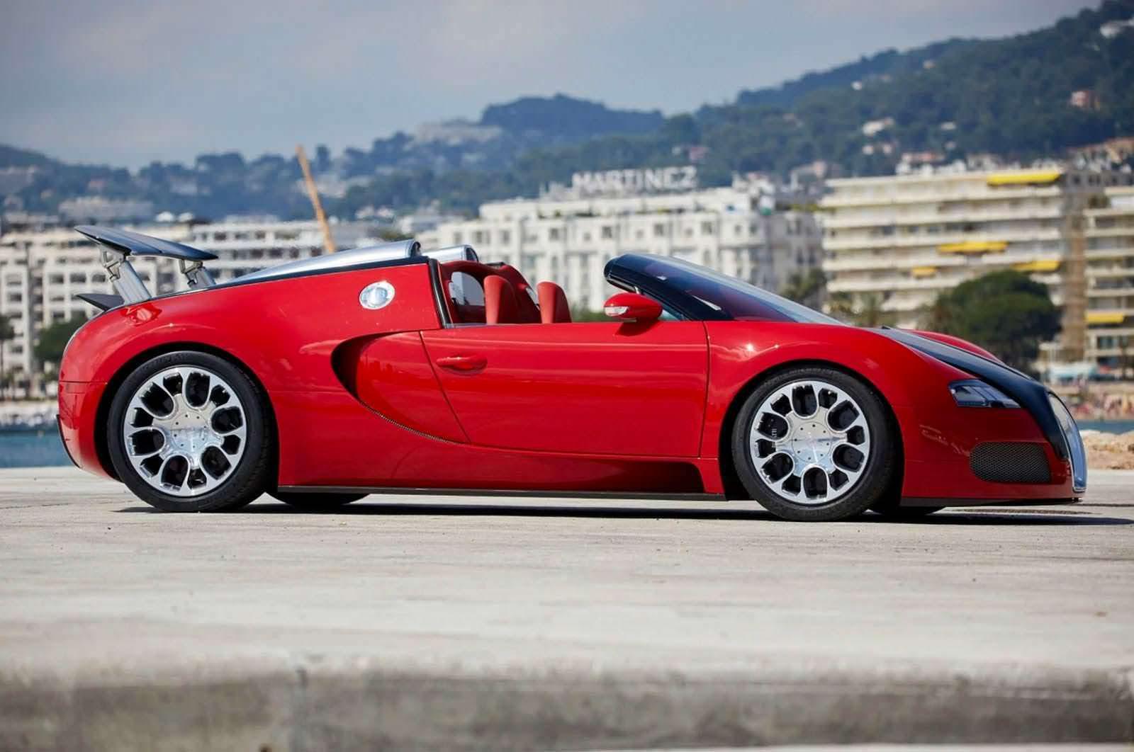 Bugatti Veyron Grand Sport 2009 года выпуска