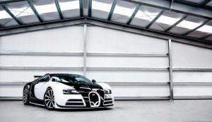 Bugatti Veyron Mansory Vivere в панда-окраске: 1 из 2