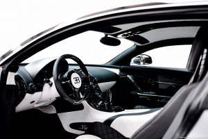 Фото салона Bugatti Veyron Linea Vivere от Mansory