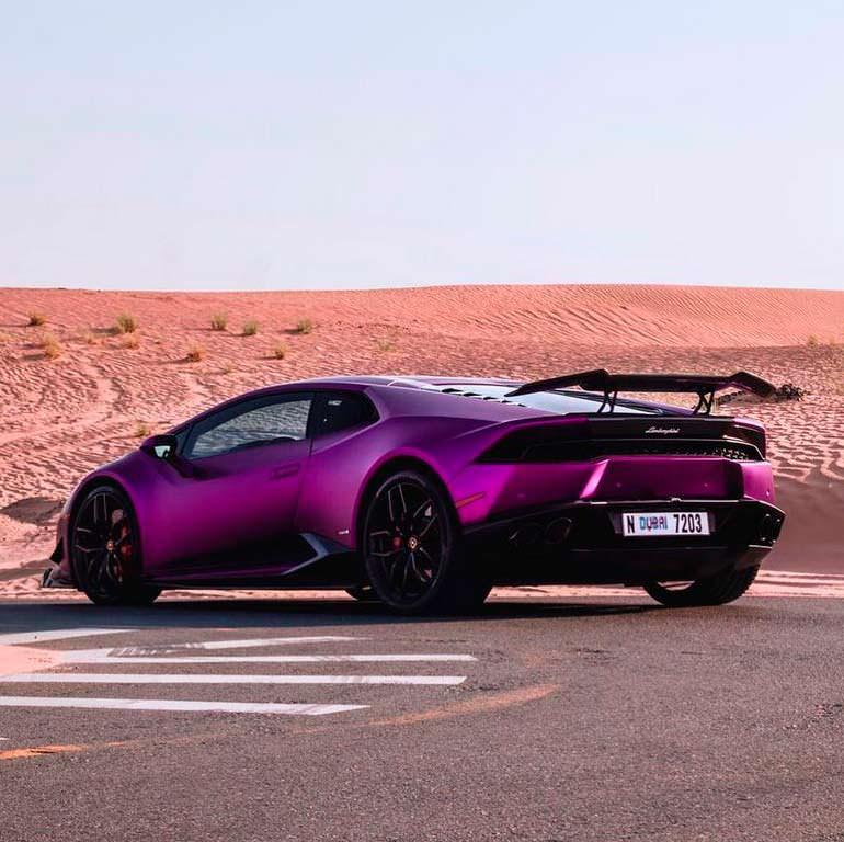 Пурпурный Lamborghini Huracan Razmig. Тюнинг от RevoZport