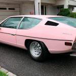 Розовая Ламборгини Эспада 1974 года выпуска