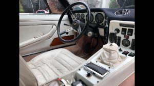 Фото салона Lamborghini Espada 1974 года