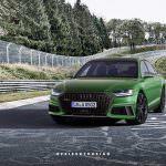 Супер-седан Audi RS8. Неофициально от PeisertDesign