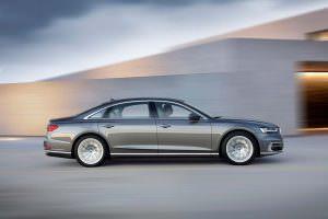 Новая Audi A8 L