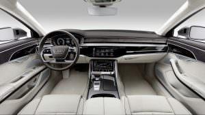 Интерьер Audi A8 2018