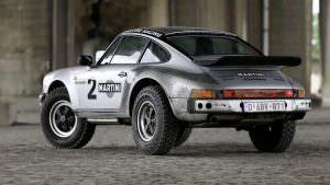 Ралли-кар Porsche 911 Safari 1978 года Эрика Бранденбурга