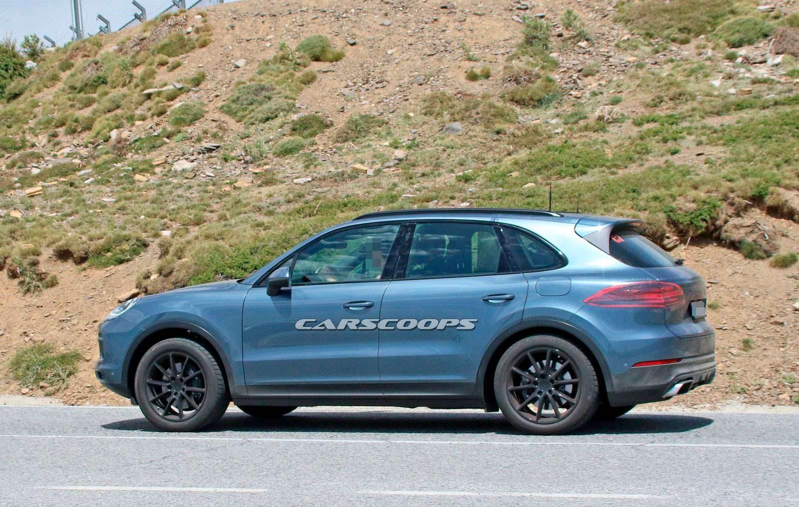 Шпионские фото Porsche Cayenne нового поколения