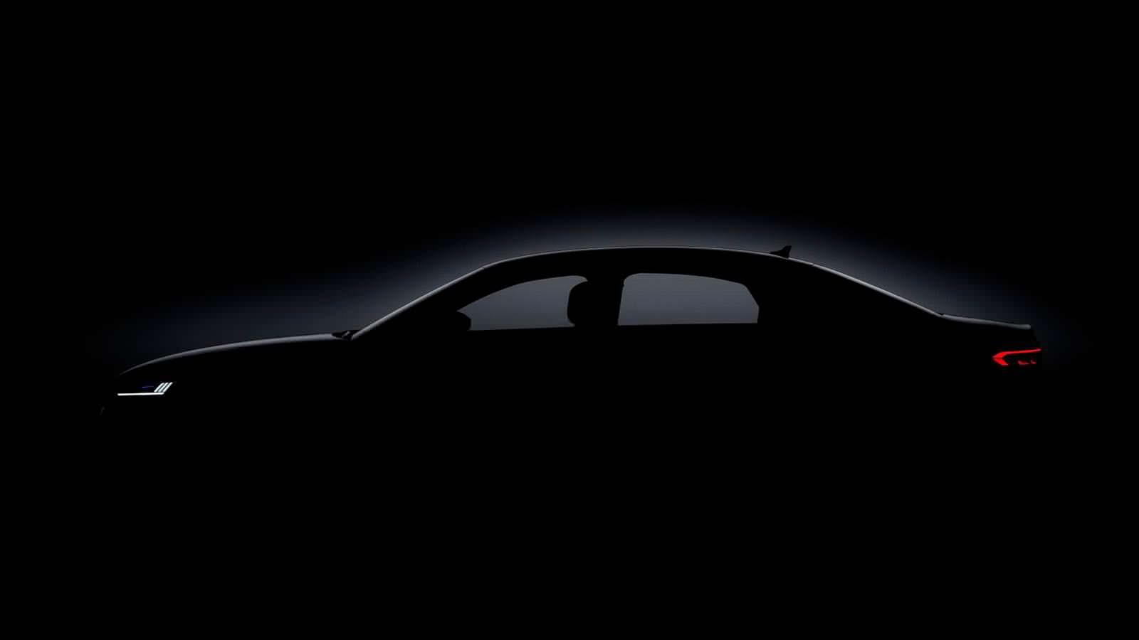 Силуэт кузова Audi A8 D5