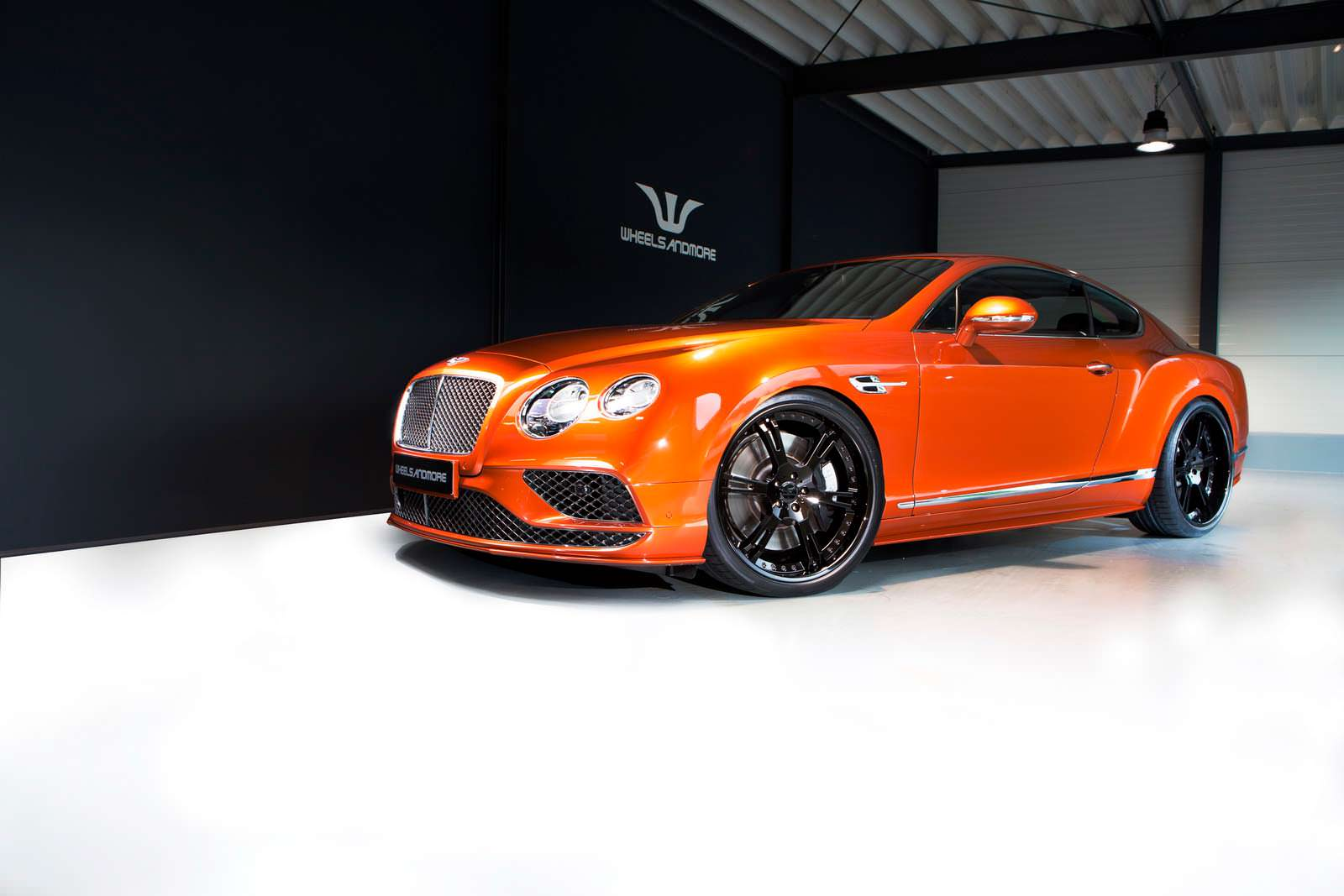 Фото  Тюнинг Bentley Continental GT Speed