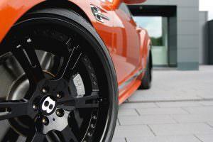 Трехкомпонентные колеса Bentley Continental GT Speed