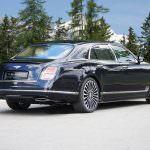 Лимузин Bentley Mulsanne в тюнинге от Mansory