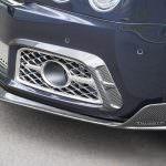 Карбоновый сплиттер в переднем бампере Bentley Mulsanne