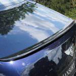 Карбоновый спойлер на кромке багажника Bentley Mulsanne