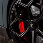 Novitec Lamborghini Aventador SV Roadster на дисках Vossen