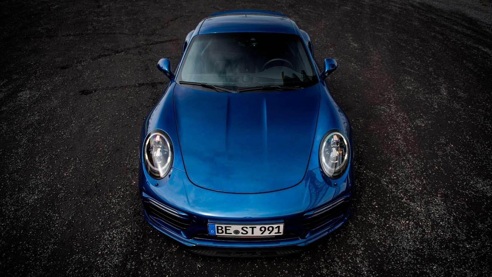 Самый быстрый Porsche 911 Turbo S Exclusive от Edo