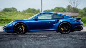 Спортивное купе Porsche 911 Turbo S Exclusive от Edo