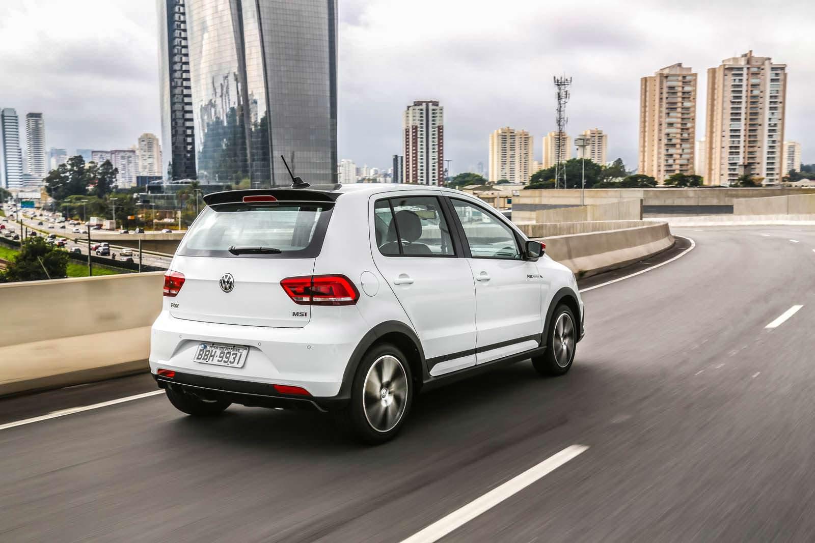 Хэтчбек Volkswagen Fox Pepper для Бразилии