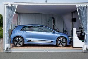 Электрический Volkswagen Gen.E Concept. 2017 год