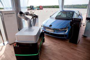 Электрический хэтчбек Volkswagen Gen.E Concept