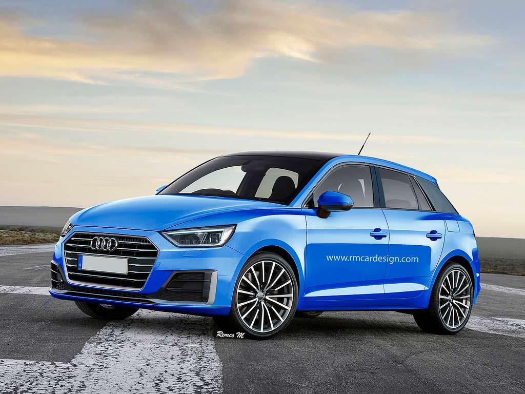 Новая Audi A1. Неофициальный рендер от rmcardesign.com