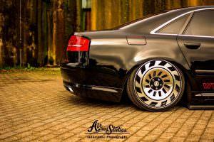 Audi A8 D3. Ретро-диски Radi8 R8T12