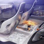 Голографический дисплей в Audi E-Tron Imperator из 2028 года