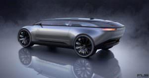 Дизайн будущего Audi E-Tron Imperator из 2028 года