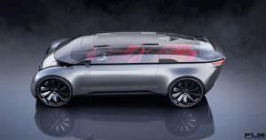 Audi E-Tron Imperator с автопилотом из 2028 года