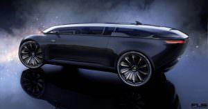 Электрокар с автопилотом Audi E-Tron Imperator из 2028 года