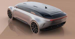 Фантастическая Audi E-Tron Imperator