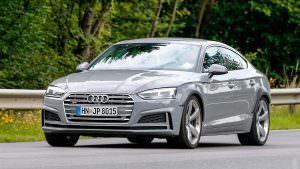Новая Audi RS5 Sportback на дорожных тестах