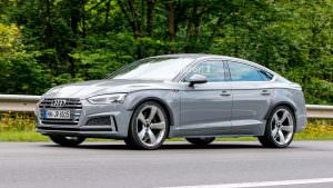 Шпионские фото Audi RS5 Sportback на дорожных испытаниях