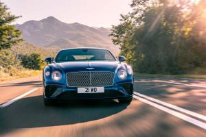Новое поколение Bentley Continental GT 2018