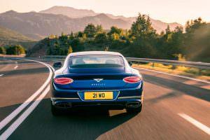 Купе Bentley Continental GT нового поколения