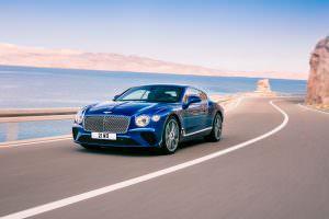 Шикарное купе Bentley Continental GT 2018