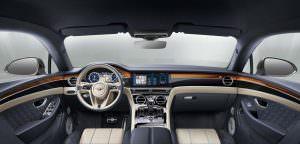 Шикарный салон Bentley Continental GT третьего поколения