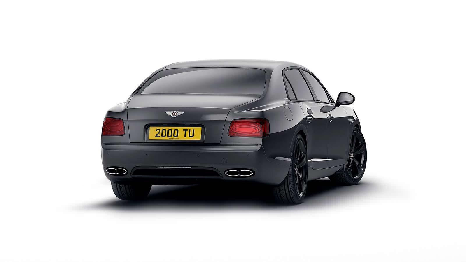 Шикарный седан Bentley Flying Spur V8 S Black Edition