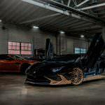 Суперкар Lamborghini Aventador SV