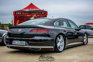Заниженный VW Arteon на дисках от Cayenne