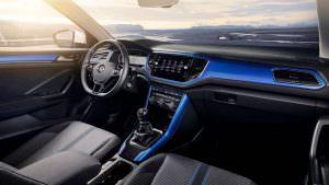 Фото салона Volkswagen T-Roc 2018