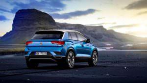 Начальный кроссовер Volkswagen T-Roc 2018