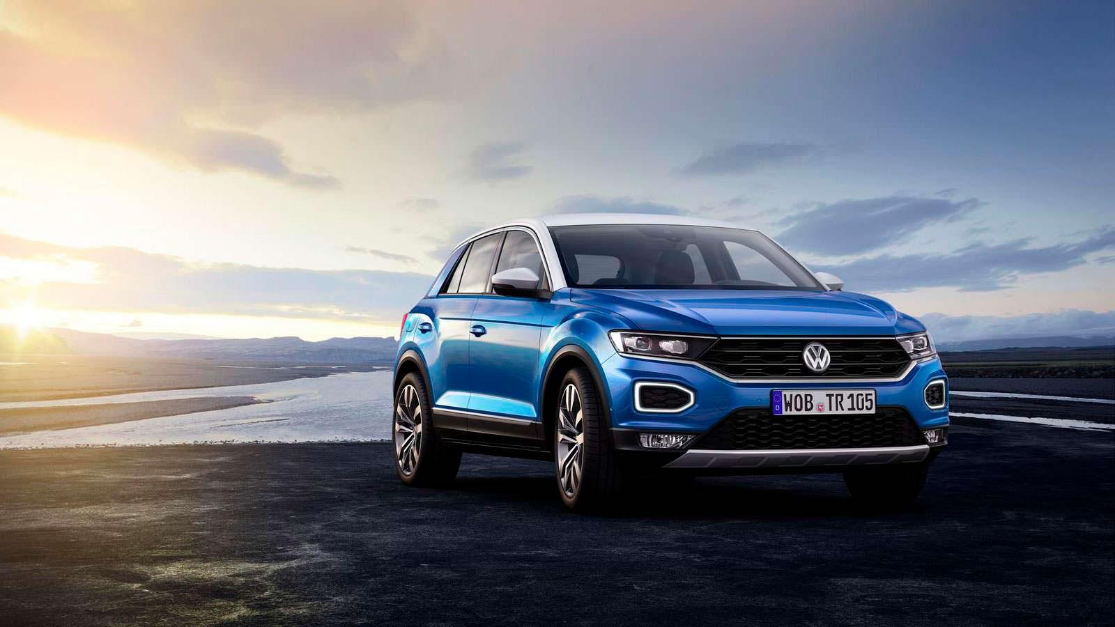 Фото   Кроссовер Volkswagen T-Roc