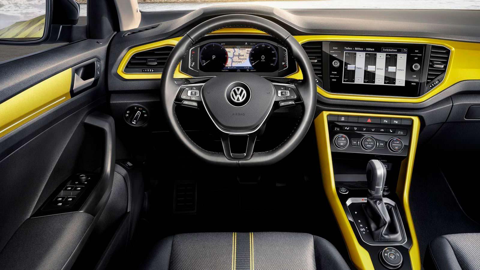 Фото   Салон Volkswagen T-Roc