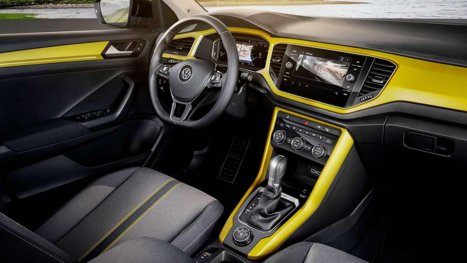 Фото   Интерьер Volkswagen T-Roc